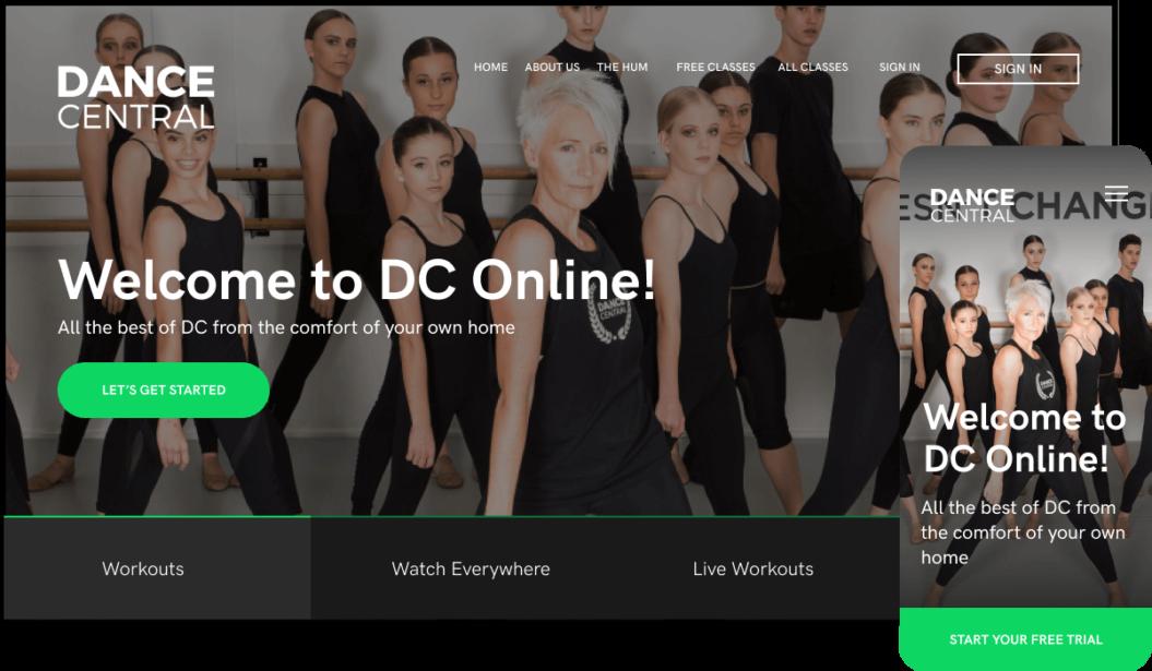 Dance Central Entertainment OTT service
