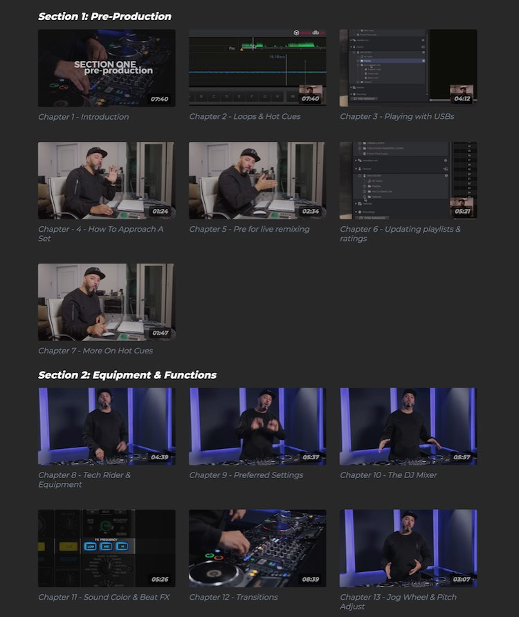 FaderPro VOD content catalog dividers