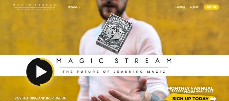 Magic Stream homepage