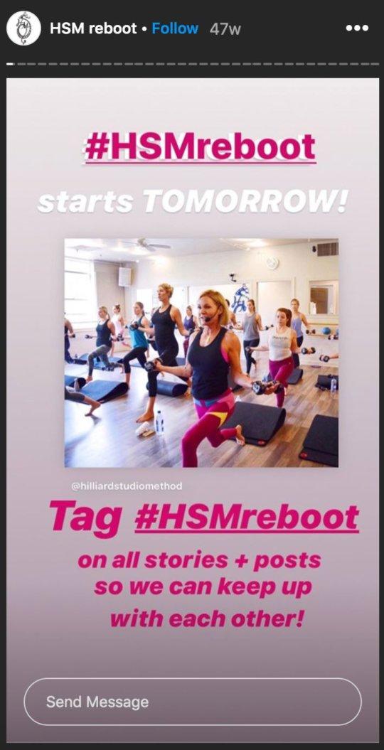 Hiller Studio Instagram story