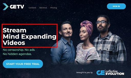 CETV homepage VOD description