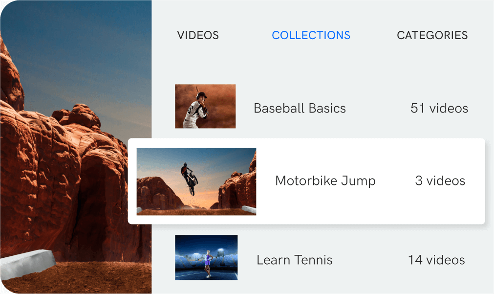 built-in video cms features