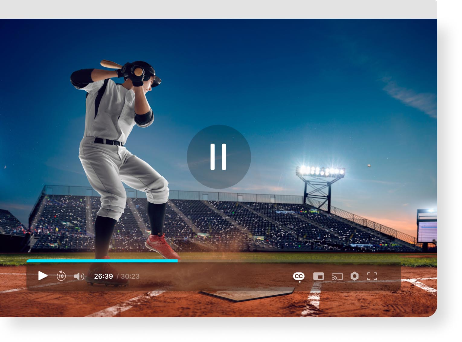 HTML5 video player for VOD and OTT services