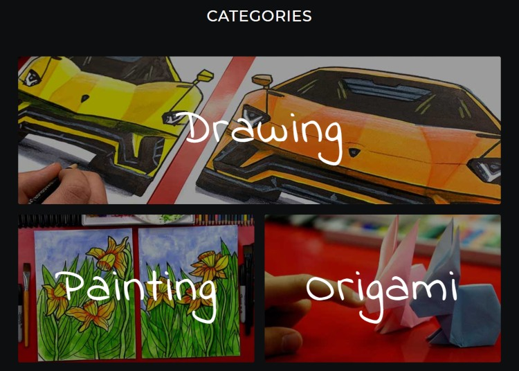 video website categories