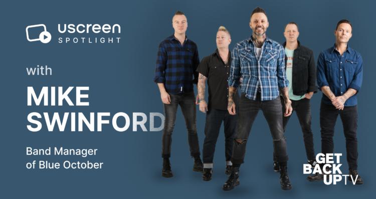 Uscreen Spotlight Blue October