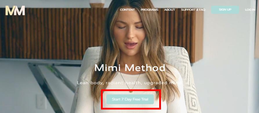Mimi method free trial example