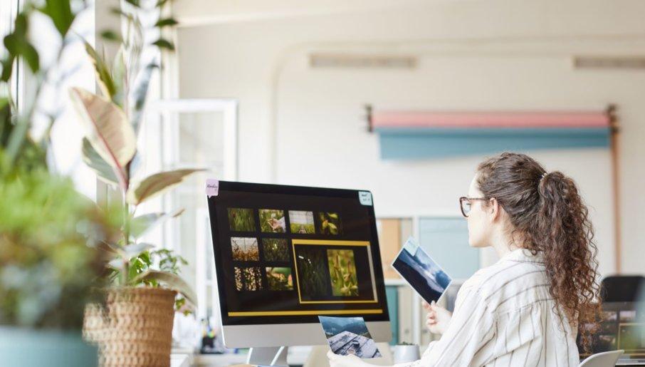 VOD business owner optimizing website