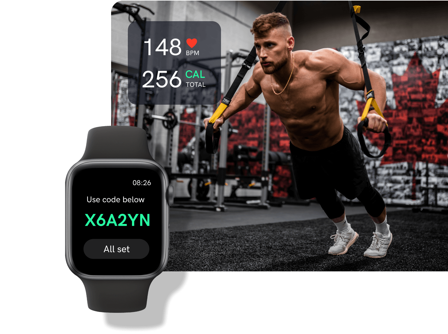Tracking workout with Apple Watch App