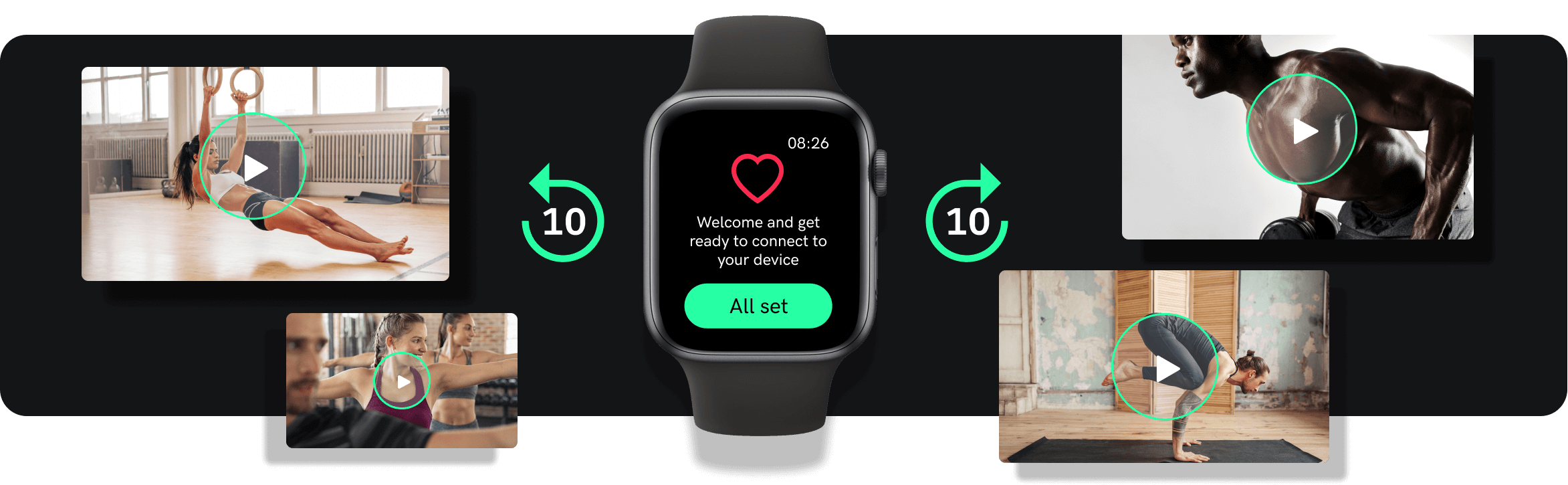 Apple Watch Fitness Tracker integration