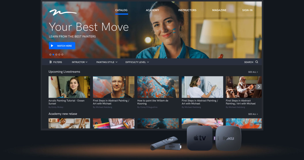 All-in-on Video Content Management System