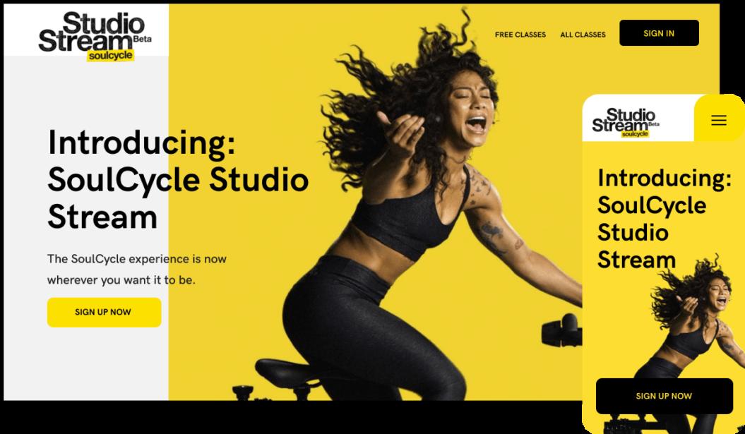 SoulCycle Studio Streaming Platform