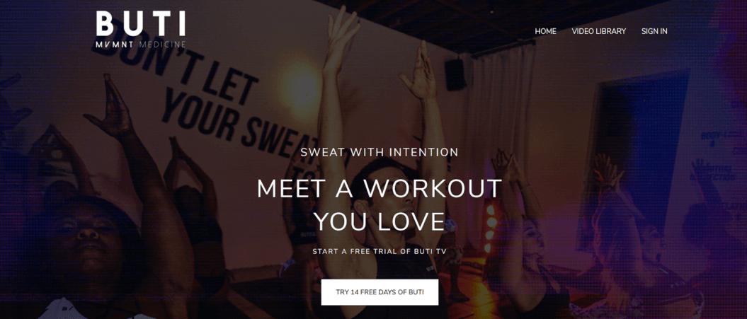 buti tv fitness streaming service