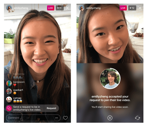 live streaming platform instagram live