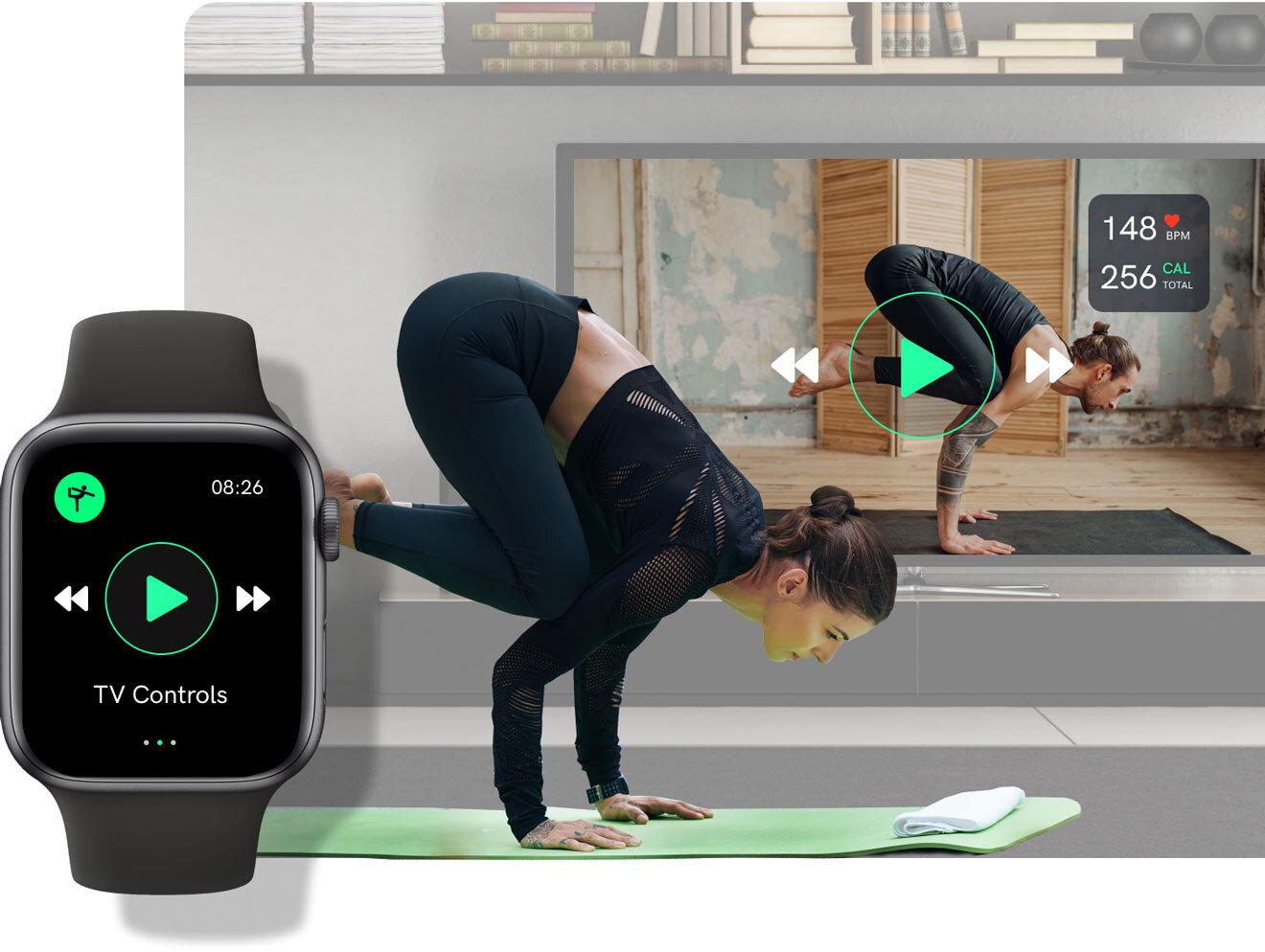 apple watch app uscreen fitness tracker