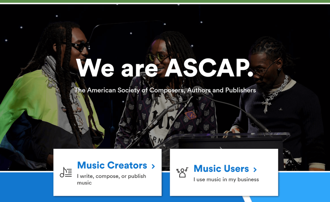 performing-rights-organization-ASCAP-example