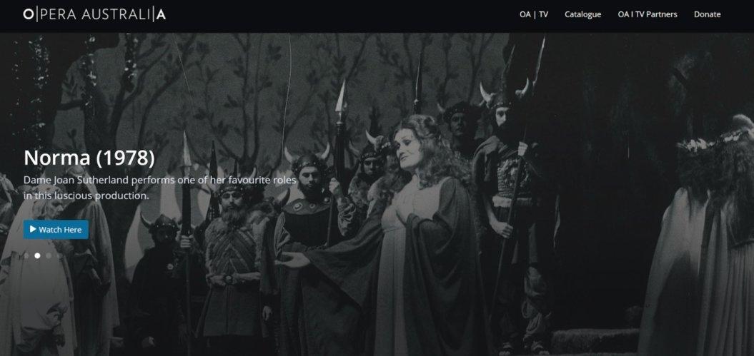 online opera virtual event example