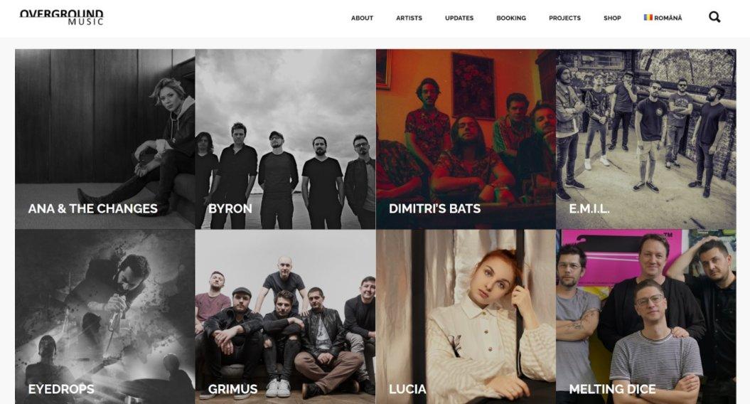 overground music homepage