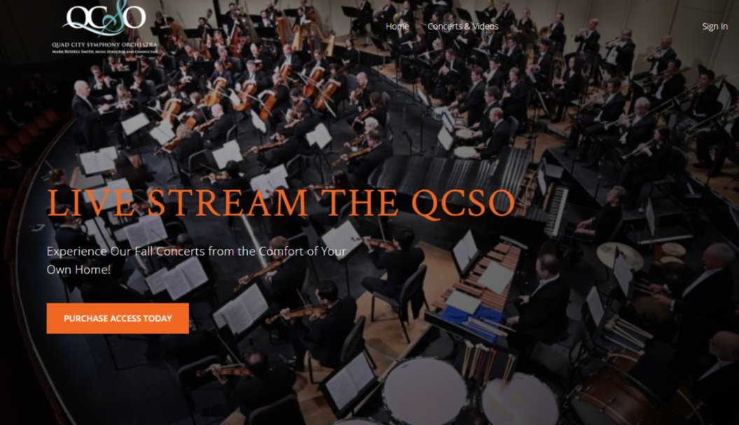 livestream event quad city symphony orchestra video homepage