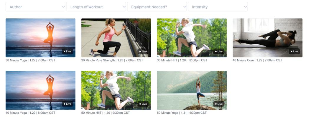 sona fitness streaming platform