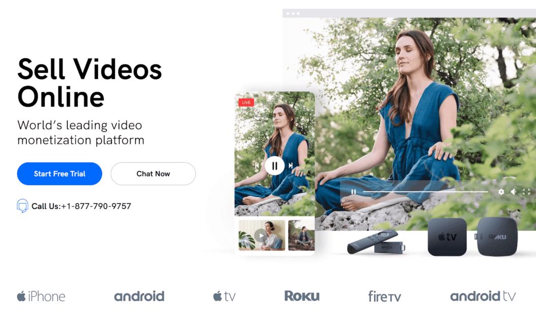 video monetization platform uscreen homepage