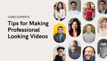 expert video tips for video content creation