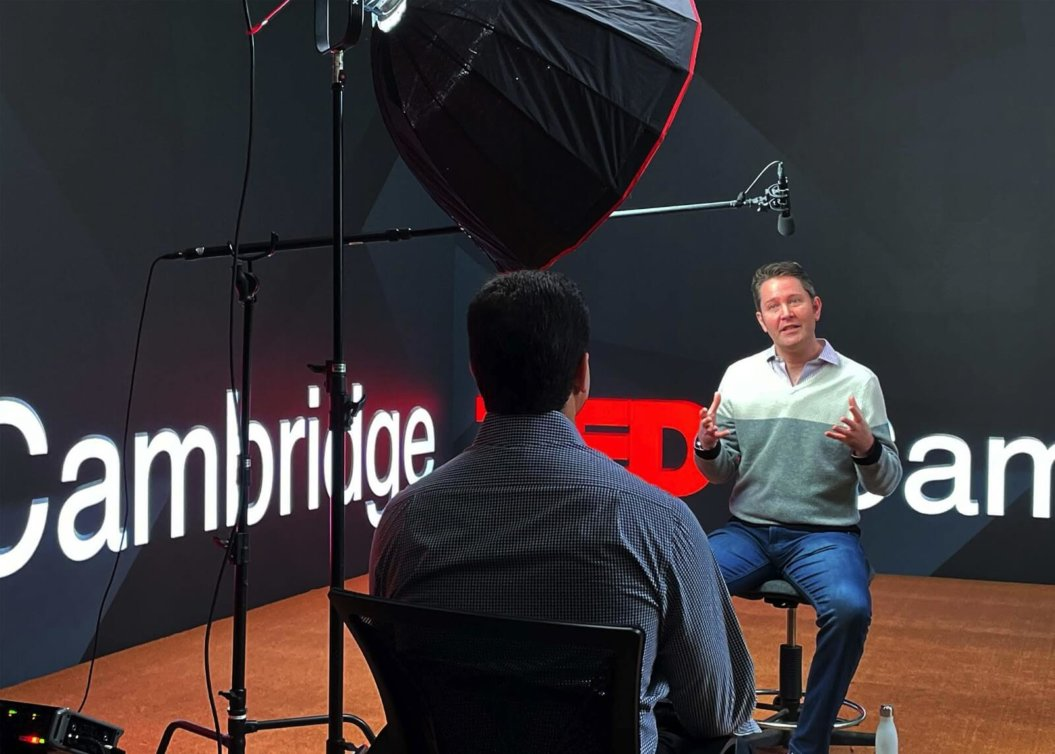 TEDxCambridge  Executive Director Dmitri Gunn