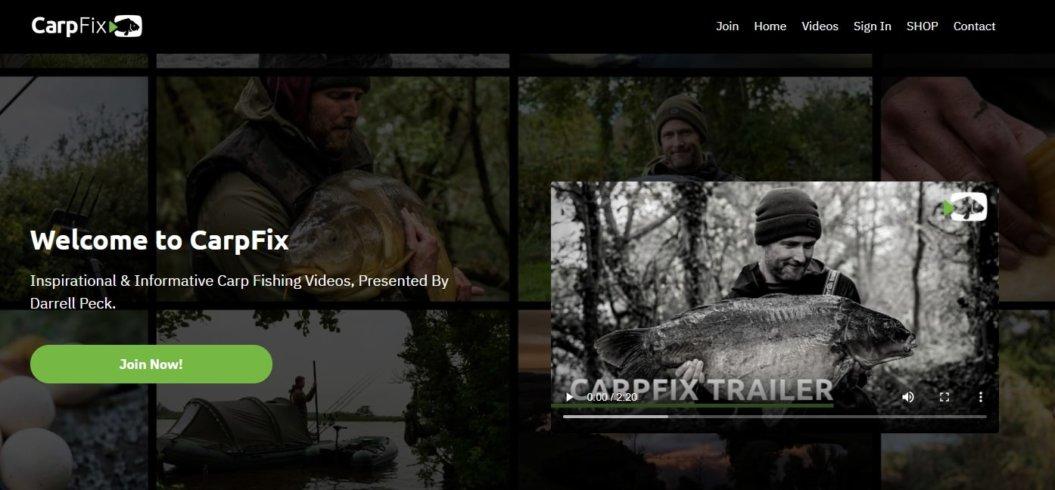 carpfix product sales page