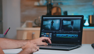 Compressing a video to reduce the video file size