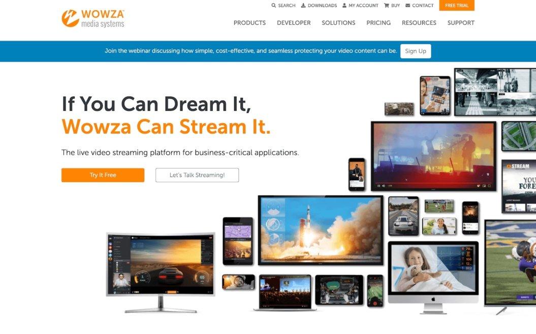 wowza platform