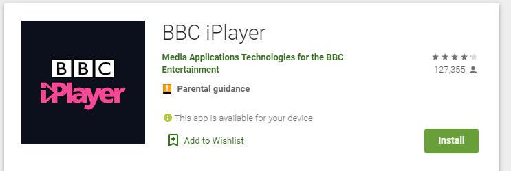 google play store bbc example