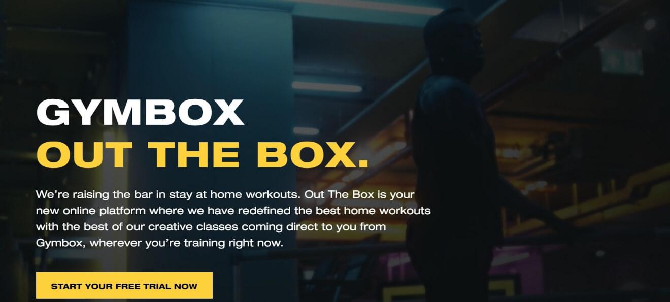 gymbox fitness vod platform