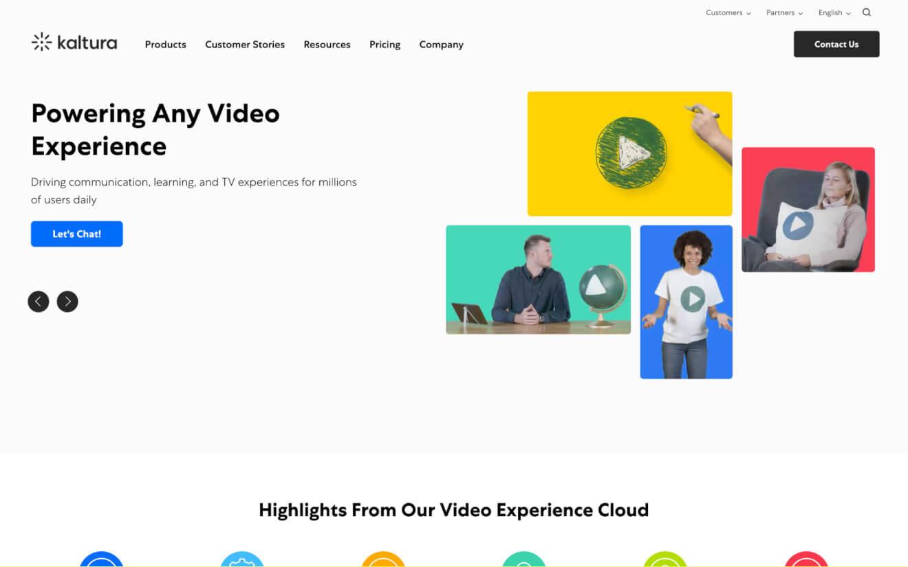 kaltura video hosting service