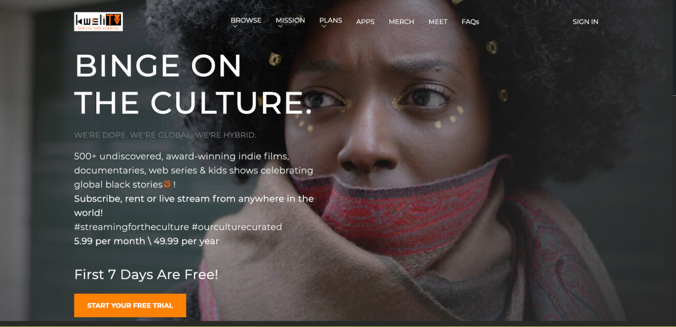 kweli video on demand platform
