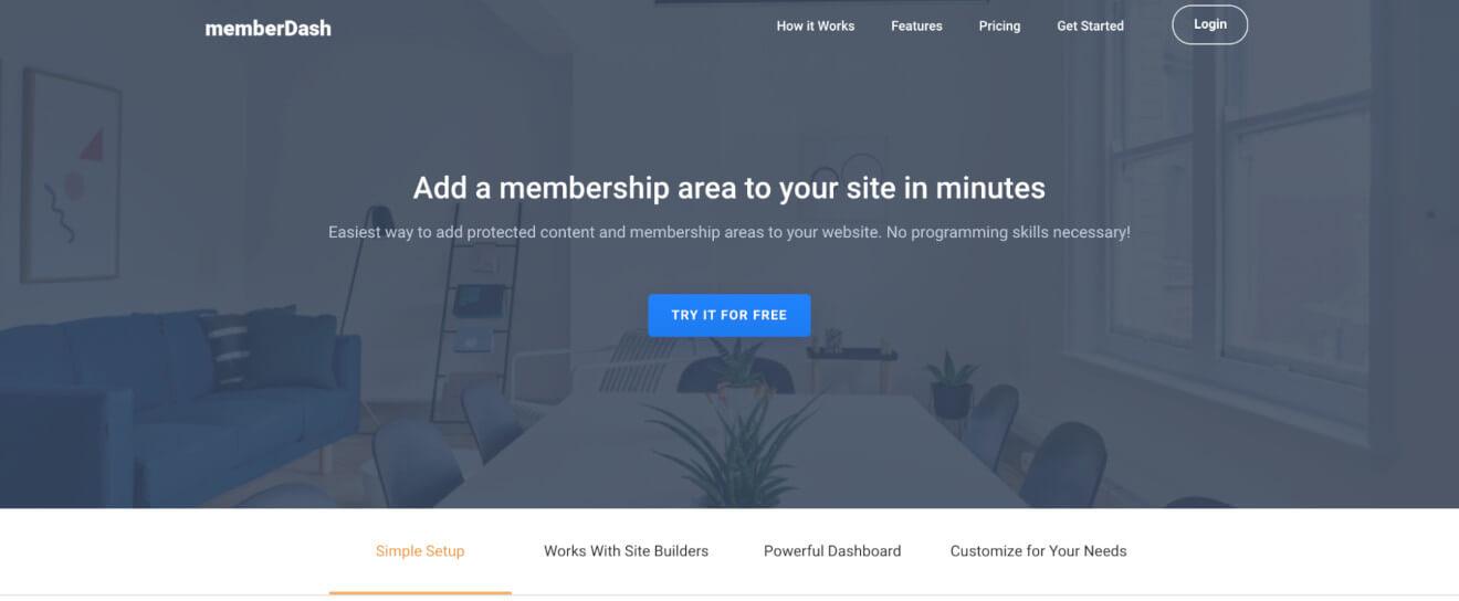 memberdash membership plugin