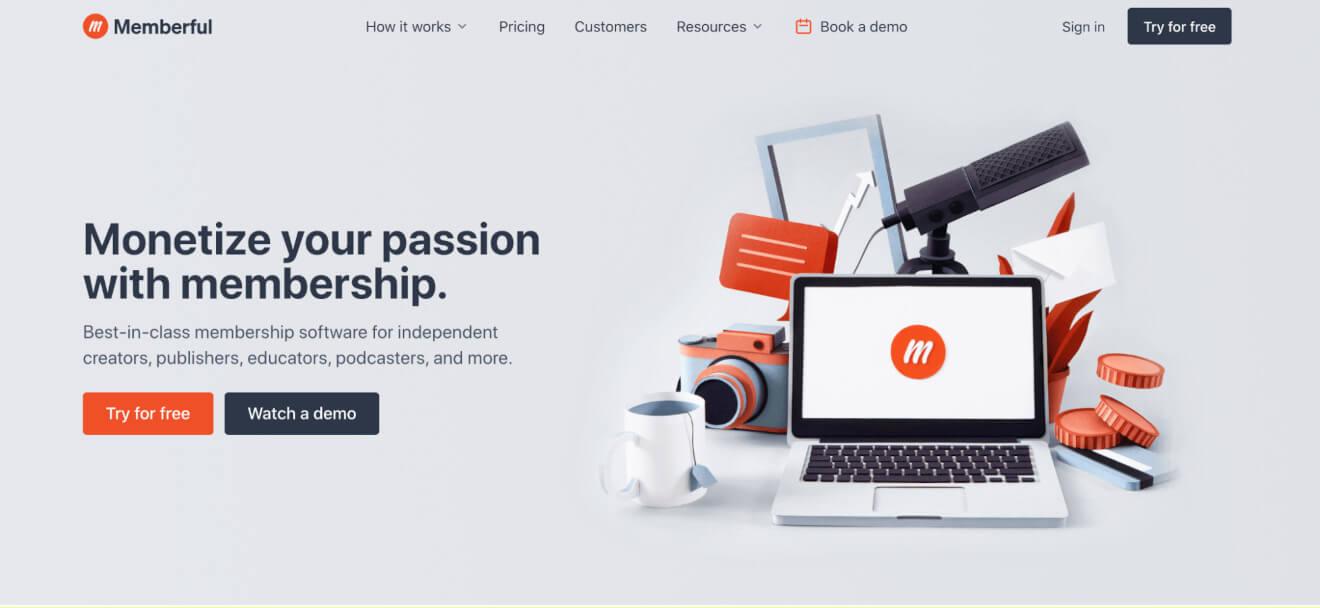 memberful monetization platform