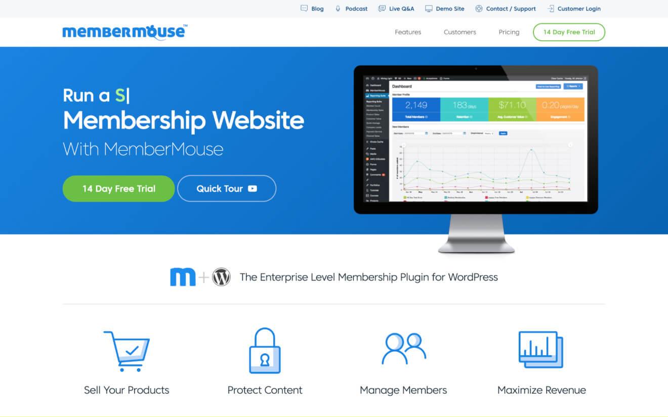 membermouse membership website