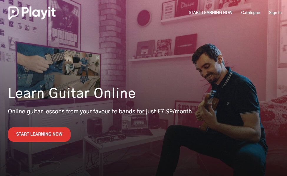 playit online video guitar classes