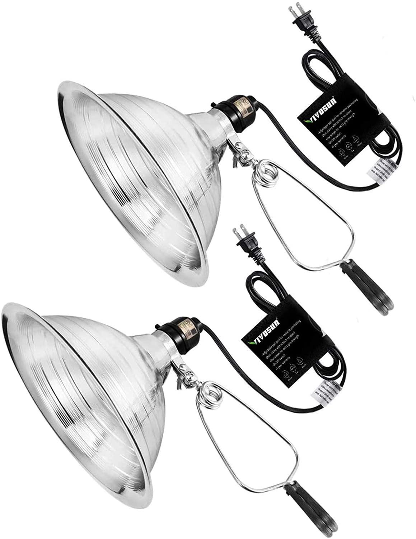 led bulb clamp light