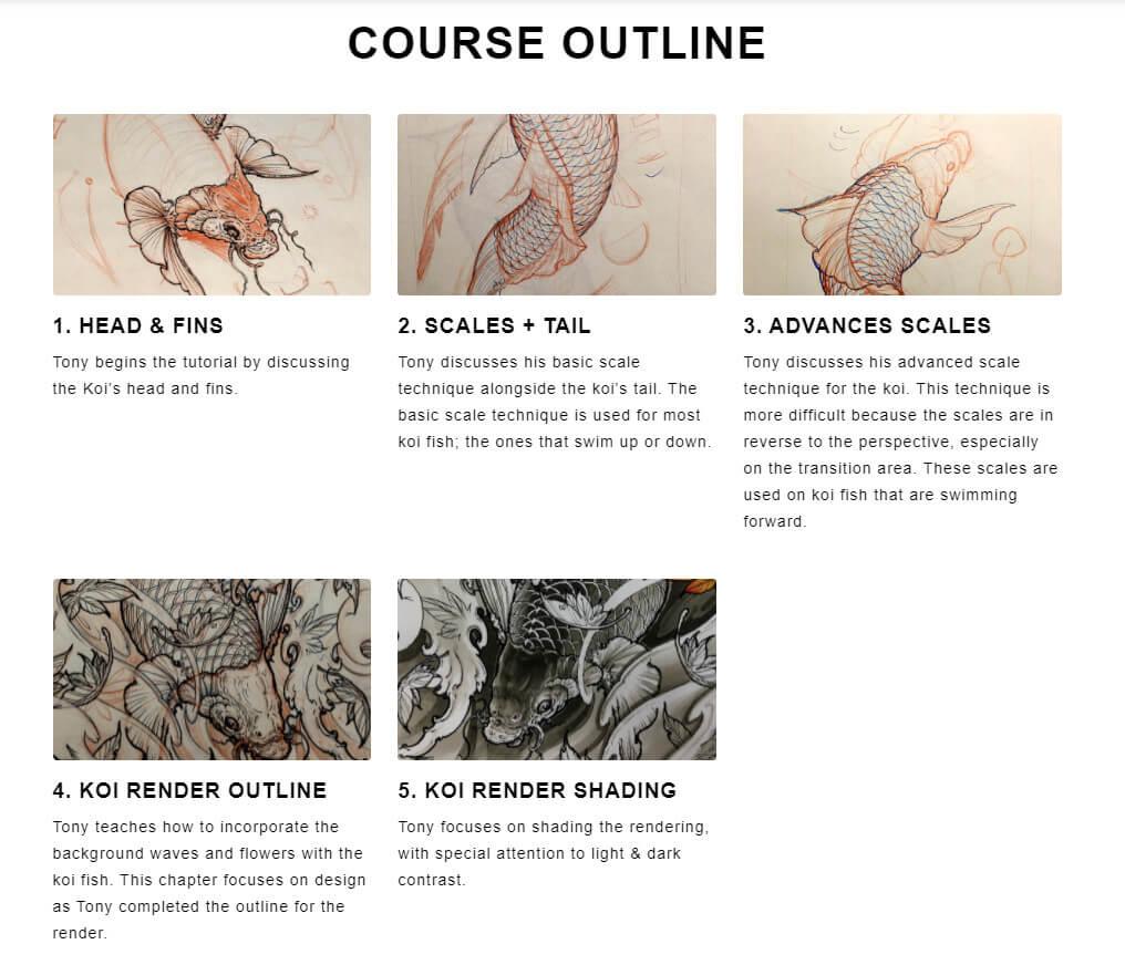 inksworkshop course video segments