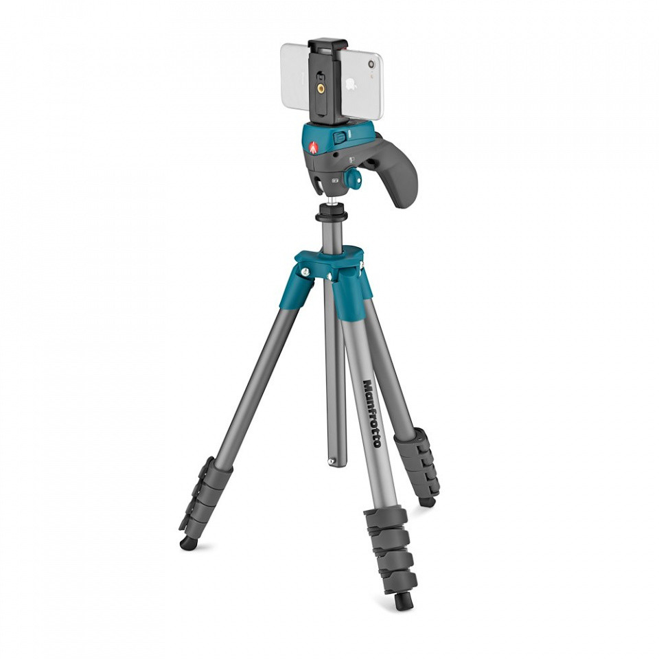 manfrotto compact action smart tripod