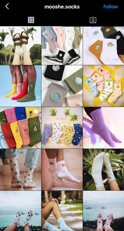 mooshe socks instagram pictures