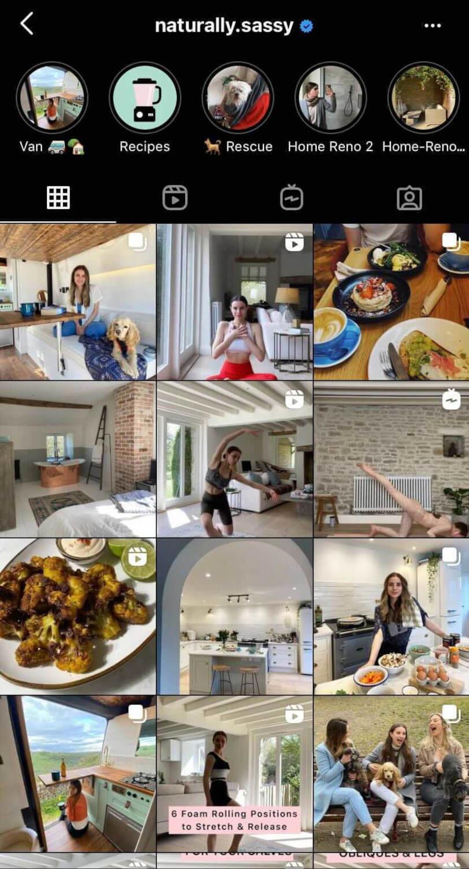 naturally sassy instagram posts
