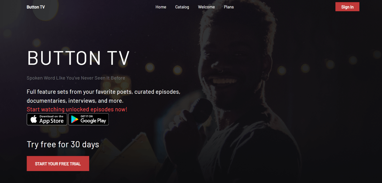 button tv poetry streaming