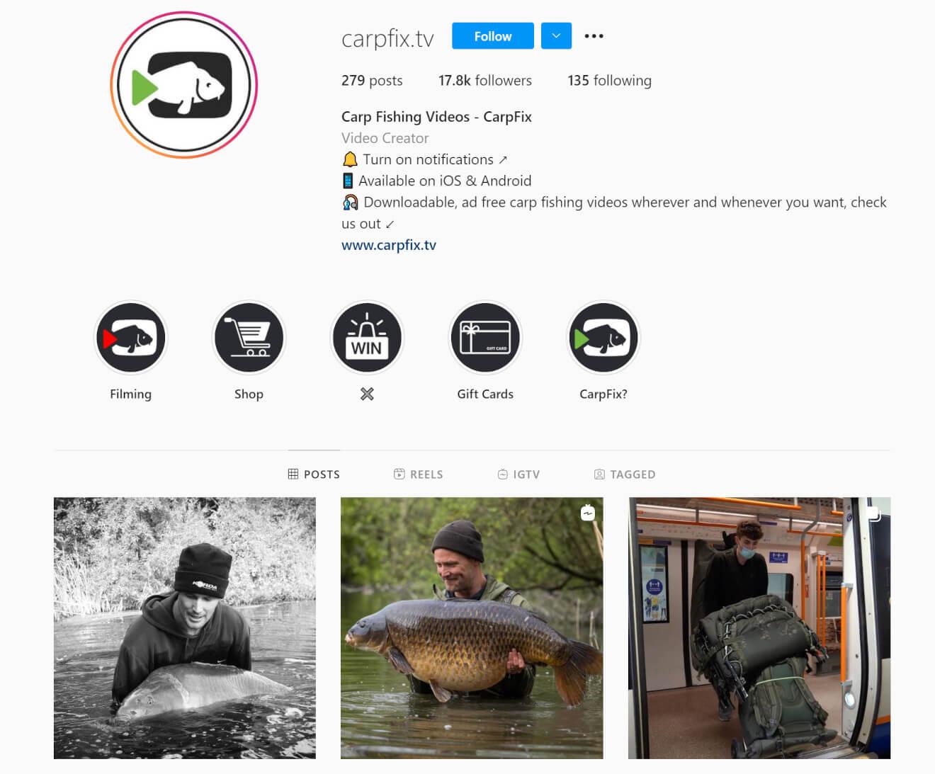 carpfix tv instagram