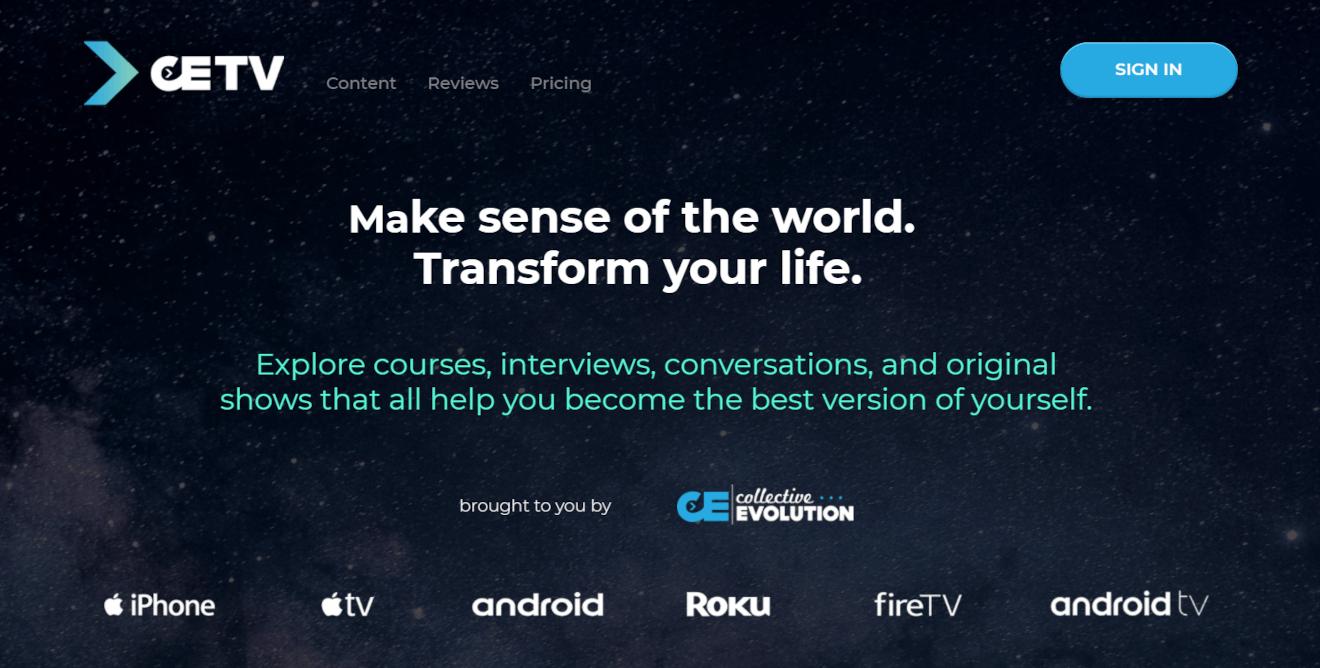 cetv ott video streaming service
