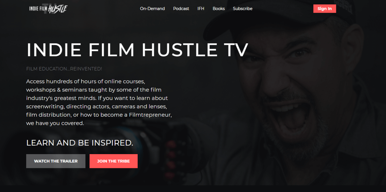 indie film hustle vod for film-makers