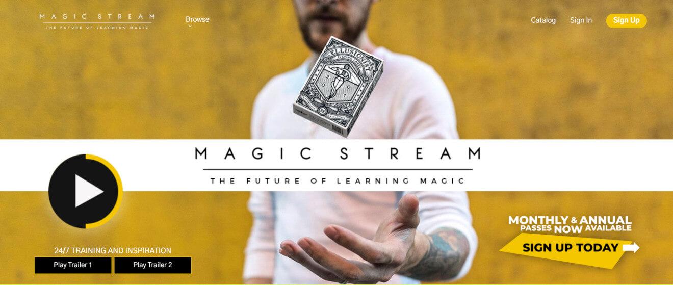magic stream svod