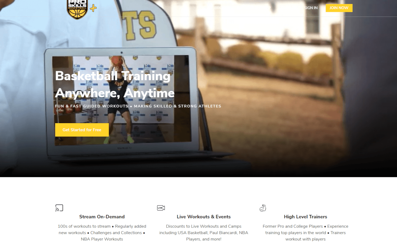 psb+ basketball streaming service