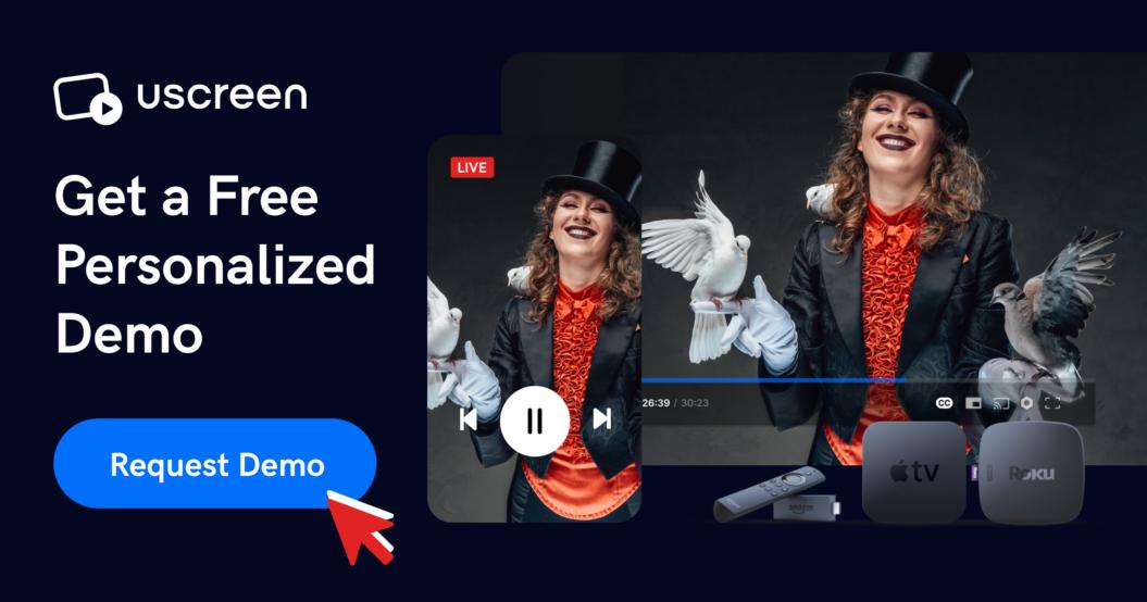 request uscreen demo