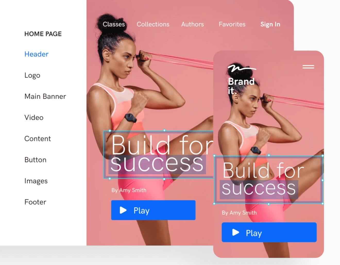 uscreen page builder